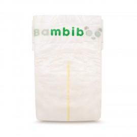 Jednorazowe pieluszki marki Bambiboo z włóknem bambusowym w rozmiarze 1 - Newborn dla noworodków o wadze od 2 do 4 kilogramów