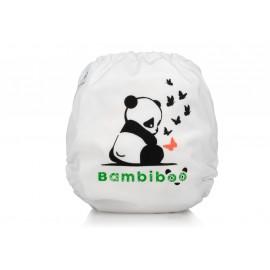 Zestaw 6 pieluszek wielorazowych z 12 wkładami z bambusa oraz wet bag