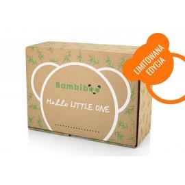 Bambiboo- zestaw prezentowy (wyprawka dla maluszka, prezent na baby shower, gift box) - LIMITOWANA EDYCJA