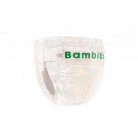 Zestaw 8 x 16 szt. - jednorazowe pieluszki Bambiboo z włóknem bambusowym dla dzieci, rozmiar 5 Junior (12-17kg)