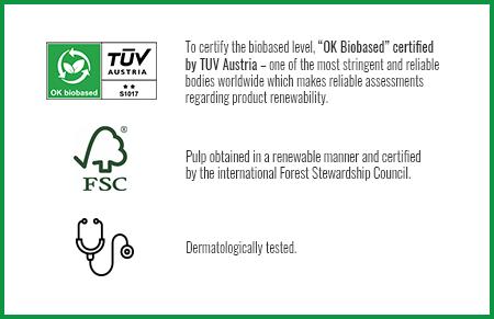 OK Biobased TUV Austria, FSC